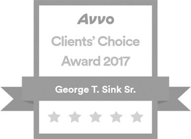 George Sink Award - Avvo Award