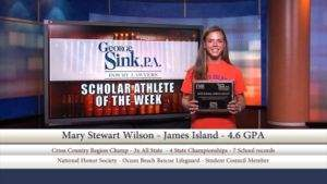 "Wilson1 300x169 GEORGE SINK, P.A. INJURY LAWYERS SPONSORS THE ""SCHOLAR ATHLETE OF THE YEAR SCHOLARSHIP"